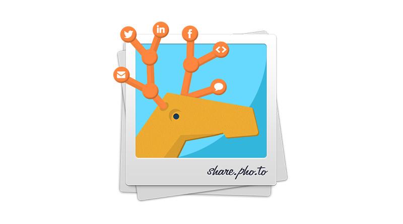 Share.Pho.to 操作介面簡潔免註冊圖片分享空間
