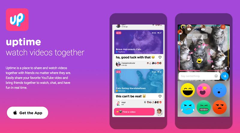 YouTube 社群互動 Uptime 程式,可與好友一塊看影片