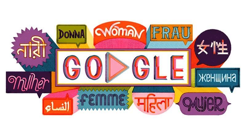 2019 國際婦女節由來與世界婦女名人 Google Doodle 塗鴉故事