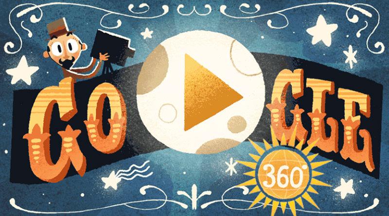 Google 紀念 Georges Méliès 喬治梅里愛 VR 虛擬實境塗鴉短片
