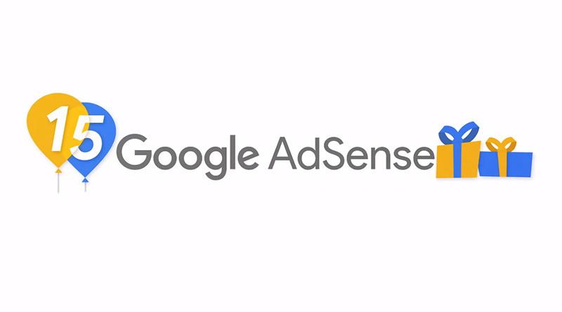 恭喜 Google Adsense 15 週年紀念短片 & 後台氣球紛飛慶祝