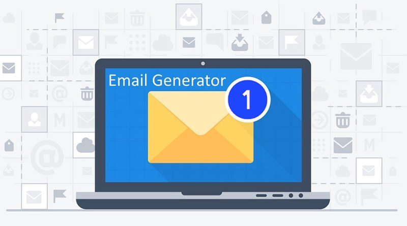 Email Generator 具備新郵件聲音提醒拋棄臨時信箱