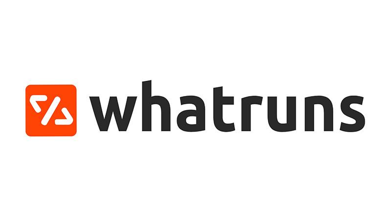 WhatRuns 查詢別人網站運作技術套件 & 第三方服務