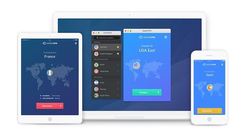 SaferVPN 來自以色列高安全隱私防護跨區科學上網軟體 & App
