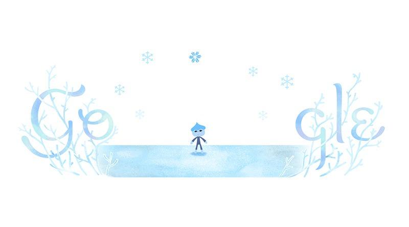 冬至猶如夏天般之依舊能吃湯圓應景 Google 塗鴉