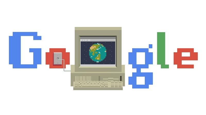 全球資訊網 World Wide Web 問世 30 週年 Google 塗鴉故事