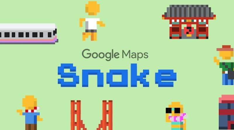 2019 愚人節限定 Google Maps 貪食蛇遊戲 & Gboard 湯匙套件