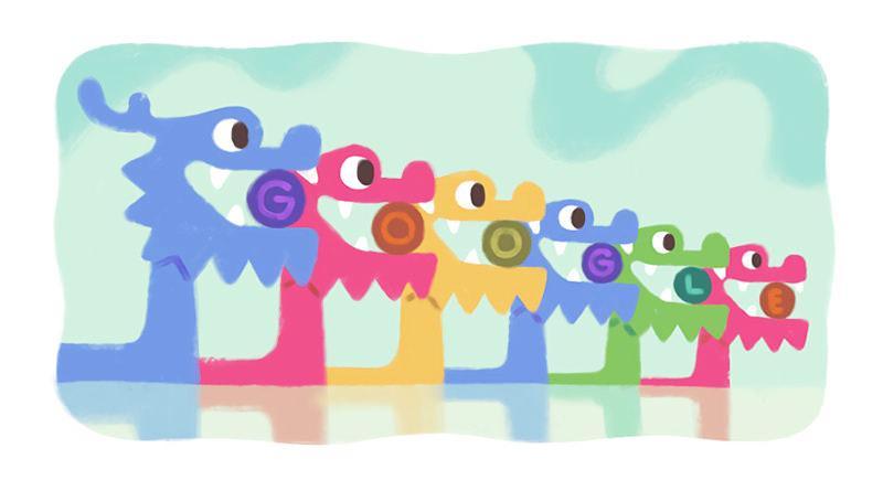 2019 端午節快樂#傳統習俗禁忌介紹 Google 塗鴉