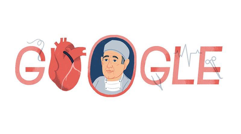 René Gerónimo 冠狀動脈旁路移植術之父卓越貢獻紀念塗鴉