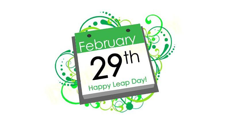 閏年介紹之為什麼每四年一度 2 月有 29 天由來 Google 塗鴉
