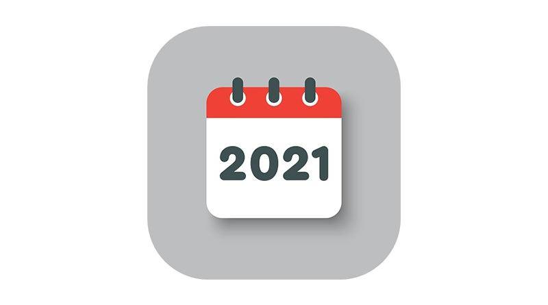 2021 行事曆請假攻略#110 人事行政局行事曆過年國定假日資訊