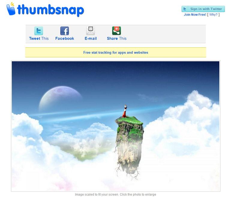 ThumbSnap – 可以分享成人圖片免註冊 Hotlink 直連空間
