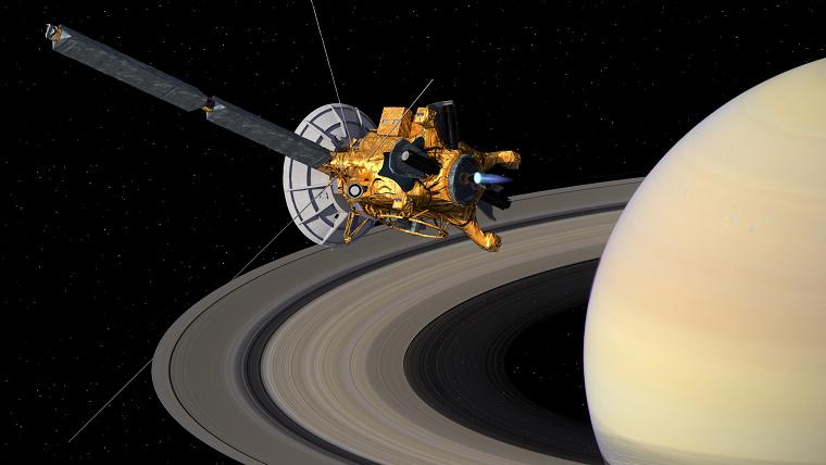 卡西尼號太空船 Cassini 飛掠土星任務最終回紀念塗鴉
