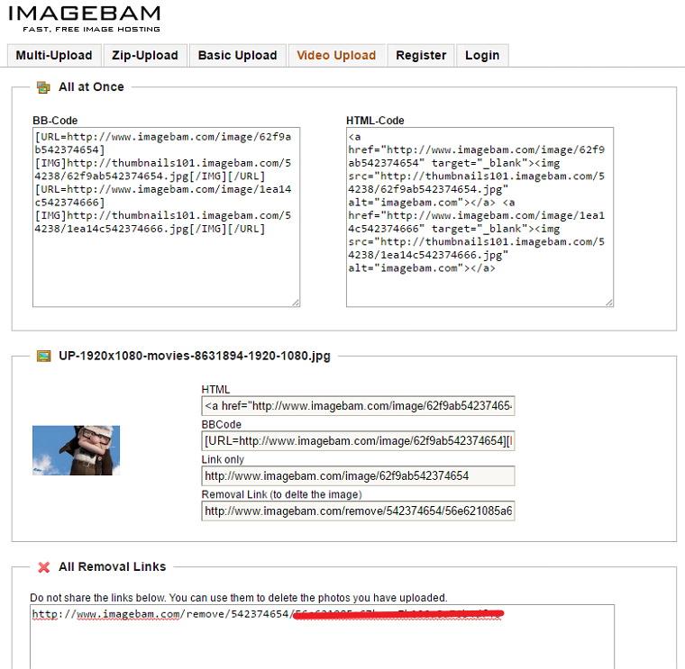 ImageBam – 速度快免註冊上傳圖片空間@可傳成人內容