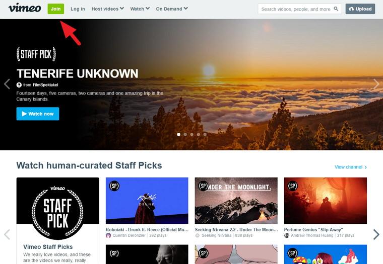 Vimeo – 高畫質影音上傳網站@影片音樂不受屏蔽限制