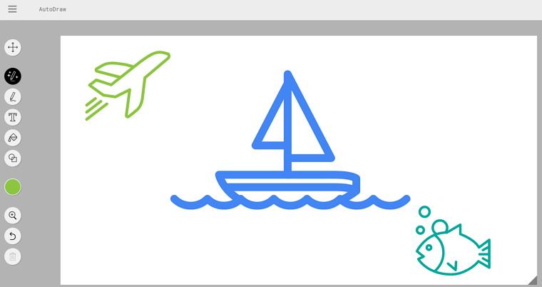 Google AutoDraw 人工智慧畫圖服務教學/版權事項