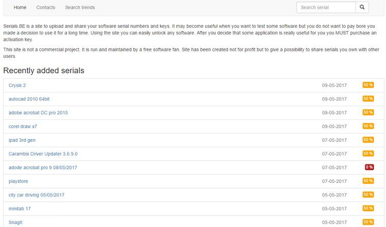 精選軟體、遊戲破解序號/註冊機網站推薦懶人包