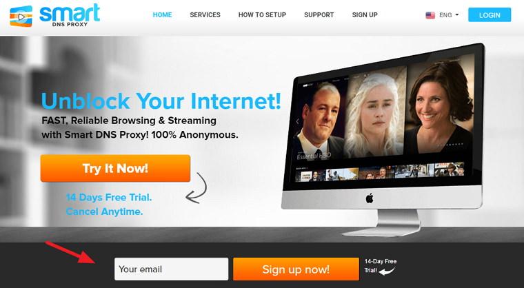 Smart DNS Proxy 破解歐美區域限定無法連線網站