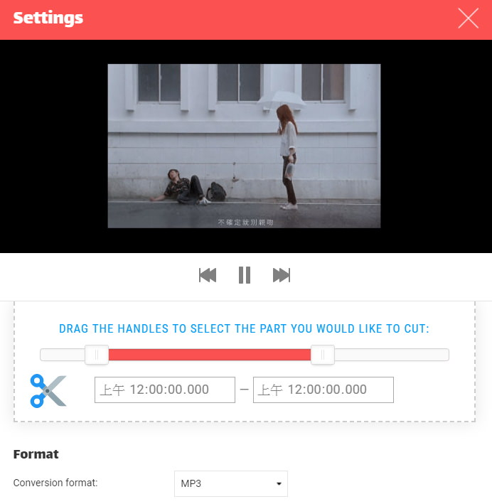 網址加 CONV 一鍵下載 YouTube MP4 / MP3 影片音樂檔案