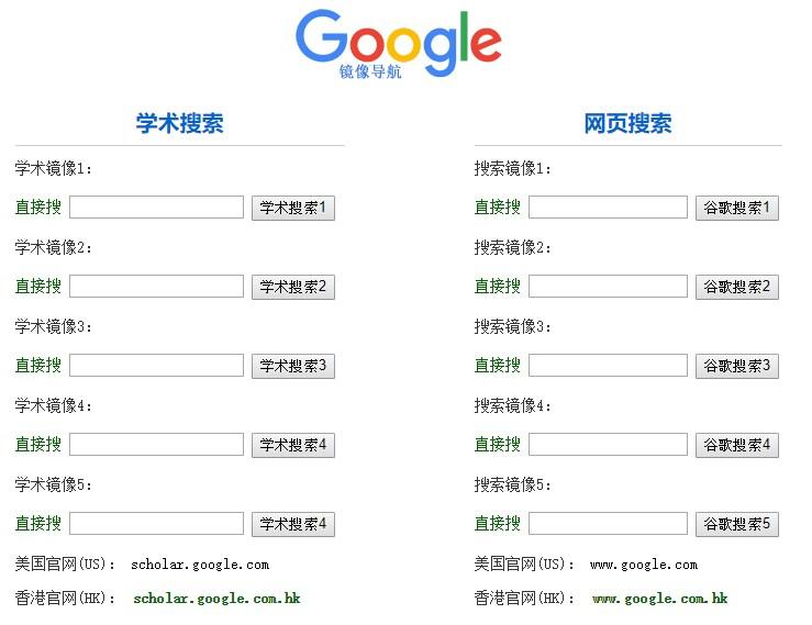 Google 谷歌鏡像網站懶人包,免翻牆無限制瀏覽#不定期更新
