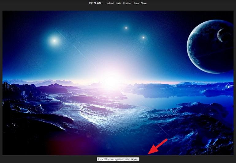 ImgSafe 介面簡潔、開檔速度還不錯免註冊圖片空間