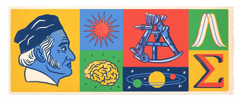 解開世紀難題數學王子卡爾·弗里德里希·高斯 241 歲冥誕塗鴉
