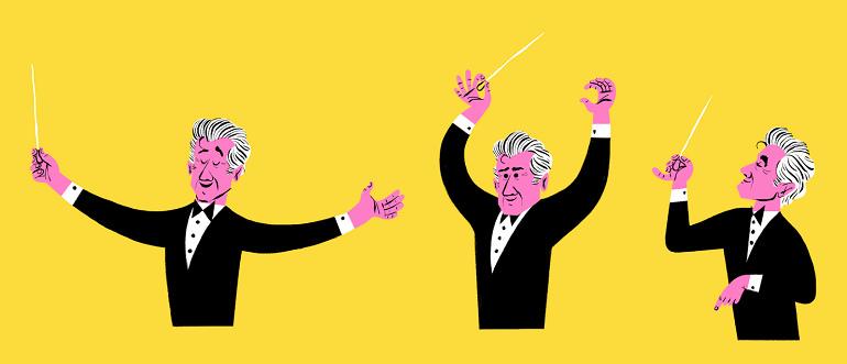 雷納德·伯恩斯坦 – 傳奇指揮家 100 歲冥誕紀念塗鴉影片