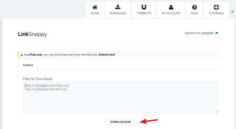 LinkSnappy 免空付費會員下載連結產生器#MEGA無限流量下載