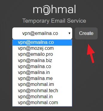Mohmal Temp Mail 多達 46 分鐘可續期拋棄式信箱