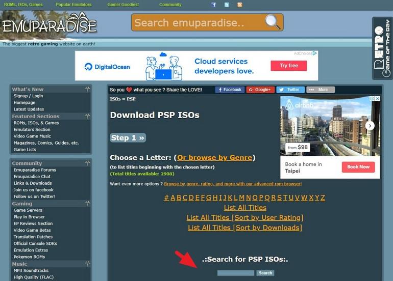 PSP 模擬器遊戲下載網站推薦#PSP ROM ISO 精選懶人包