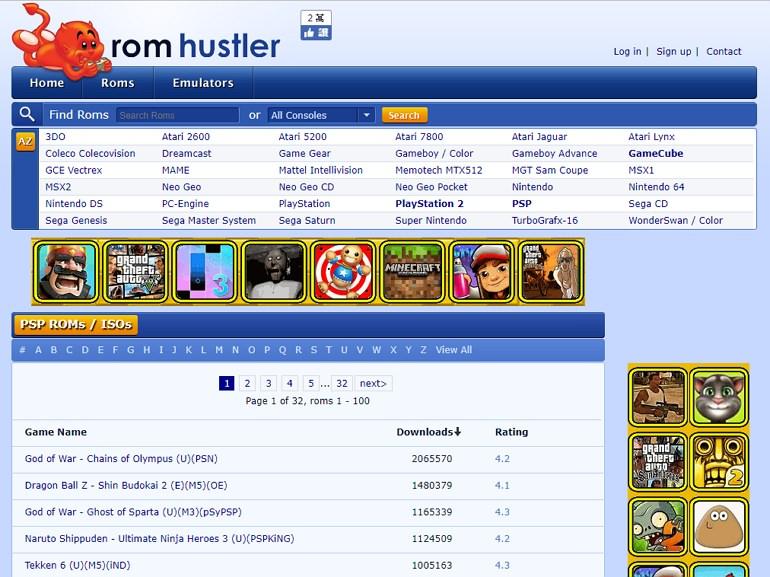 PSP 模擬器遊戲下載網站推薦#PSP ROM ISO 精選懶人包| 跳板俱樂部