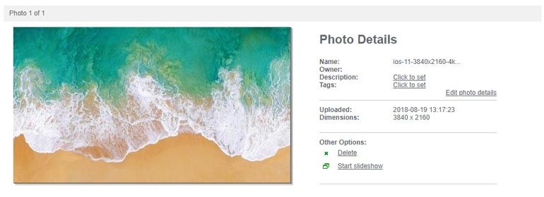PhotoBox 支援 Facebook、Flickr 與 Dropbox 圖片上傳空間