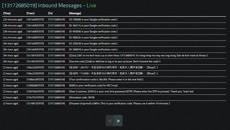 Receive SMS Online – 免費美國手機號碼收簡訊服務