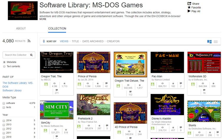 數千款 MS-DOS 骨灰經典遊戲免下載安裝線上任你玩