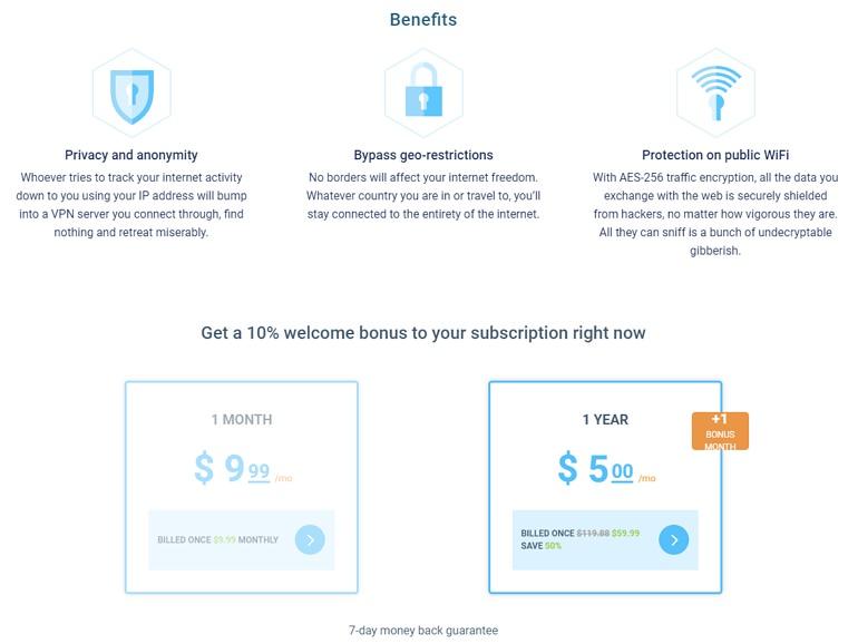 VPN Unlimited 速度快無限流量 / 電腦手機科學上網可用教學