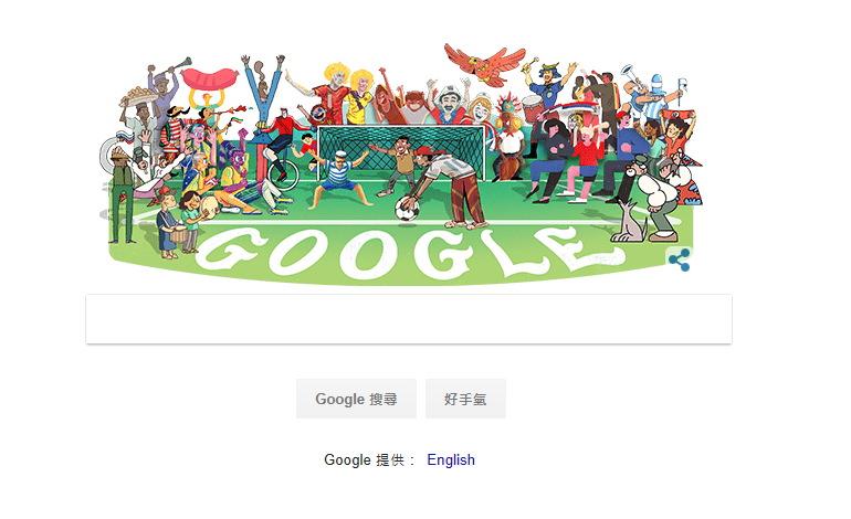 世界盃足球賽 World Cup 谷歌塗鴉#互動遊戲#賽程轉播線上看