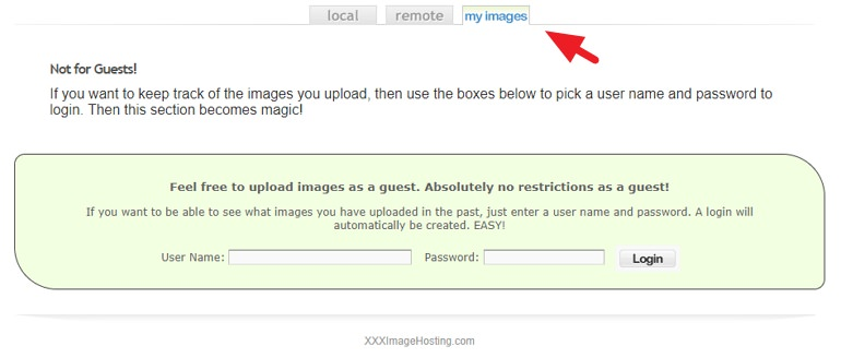 xxxImageHosting 可傳成人圖片單檔支援 25MB Web-IG 姊妹站
