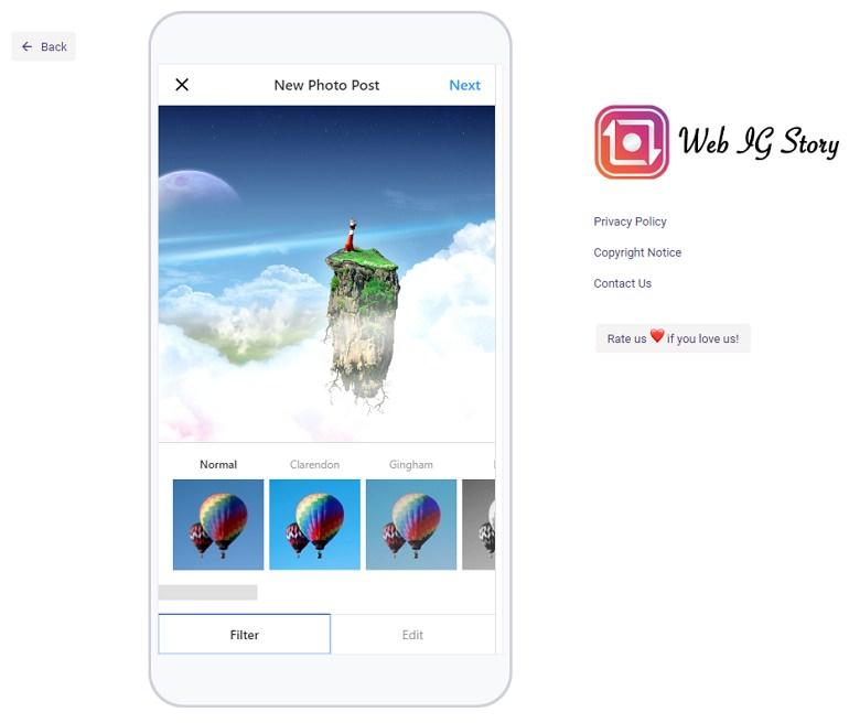 Instagram 電腦網頁版發文#上傳圖片#IG發限時動態教學