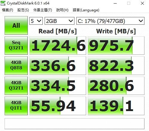 Intel 660P 採用 QLC M.2 NVMe PCIe SSD 固態硬碟開箱測速