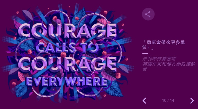 2021 國際婦女節由來與世界婦女名人 Google Doodle 塗鴉故事