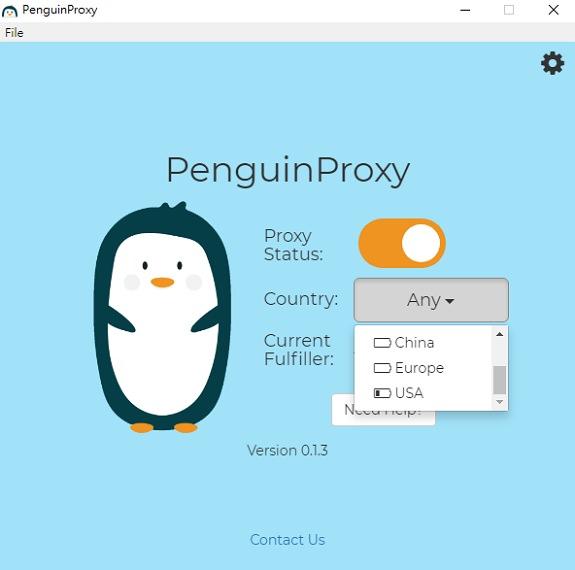 PenguinProxy 企鵝 P2P 連線免費 VPN 軟體下載 & 使用教學