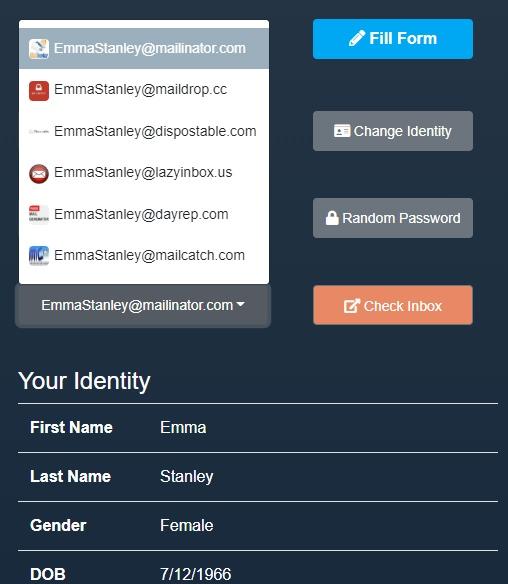 Reggy 假個資 + 臨時信箱自動產生帶入註冊表單外掛套件