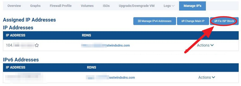 Hostwinds 支援手動換 IP VPS 評價#Ping 不通速度慢測試解法