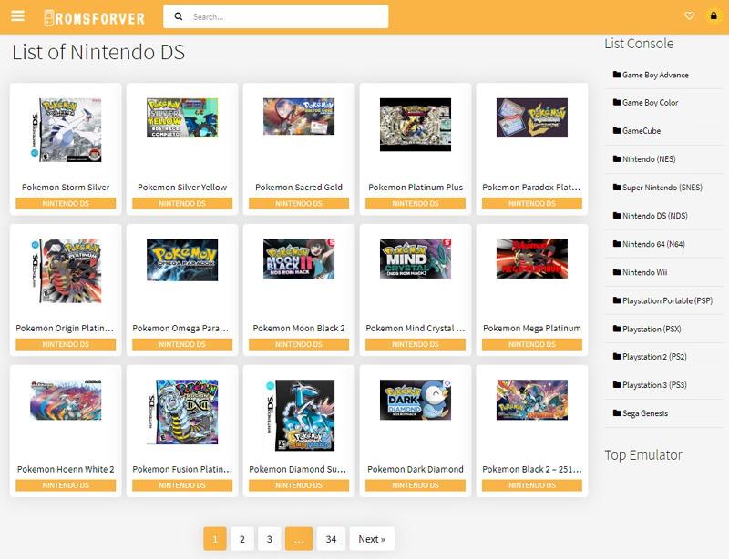 NDS 遊戲下載#任天堂 NDS 模擬器卡帶 .nds ROM 下載網站