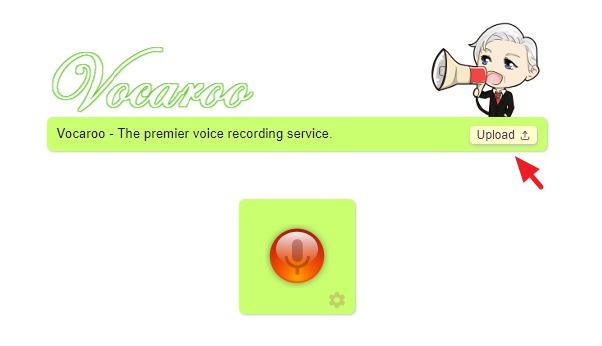 Vocaroo 免費線上錄音 + MP3 檔案上傳分享音樂網站