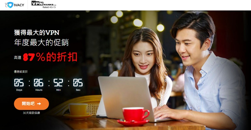 Ivacy VPN 解鎖中國與 Netflix 版權地區限制不能看影片教學